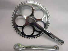 Platos y bielas universal de acero para bicicletas