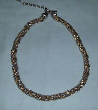 """MONET"" gold/silver Necklace"