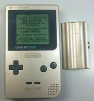 USED Game Boy Light Gold Console Nintendo MGB-101 from Japan Free Shipping