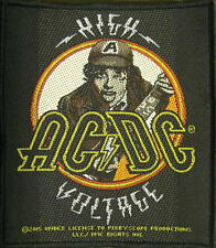"""AC/DC AUFNÄHER / PATCH # 58 """"HIGH VOLTAGE - ANGUS YOUNG"""""""