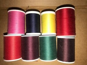 Coats and Clark Dual Duty All Purpose Various Sizes & Colors 8 Spools