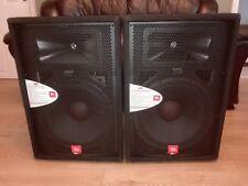 JBL  JRX115 PA Speakers (pair)