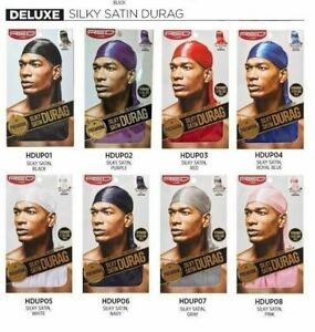 RED BY KISS PREMIUM QUALITY SILKY SATIN DURAG #HDUP EXTRA LONG TAILS DOO RAG