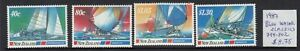 New Zealand: 1987 Blue Water Classics set of 4 stamps. L/Jury 799-802. MUH.Cheap