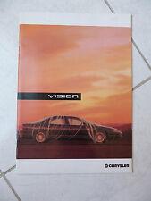Chrysler Vision 1993 - catalogue brochure dépliant prospekt