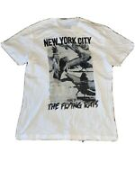 Ecko Unltd Classic T Shirt Sz 2XL New York City Home Of The Flying Rats New