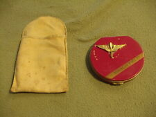 Wwii Era Army Air Corps Wing & Propeller insignia March Field compact