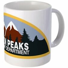 11 ounce Mug - Twin Peaks Sheriff Department - White Ceramic Coffee Tea Cup