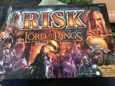 RISK 2003 The Lord of the Rings Trilogy Edition Board Game COMPLETE + Ring