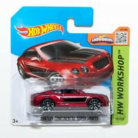 Bentley Continental Supersports, 2015 Hot Wheels scale 1:64, model toy boy gift