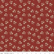Penny Rose Fabrics – Toile de Jouy Blossoms Red C6133-Red