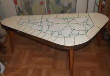 50er 60er Tisch Nierentisch Mosaik Beistelltisch Blumenbank mid century 50s