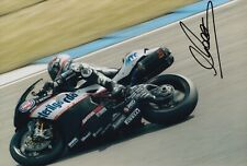 Max Biaggi Hand Signed 12x8 Photo - MotoGP Autograph.