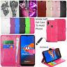 For Motorola Moto E6 Plus Case Phone Wallet Leather  Flip Book Cover + Stylus