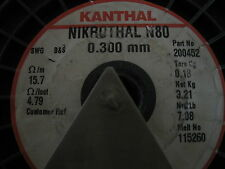 KANTHAL nickel-chromium 0.3MM Nikrothal 80 Resistance heating wire 5METER!!!