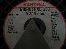 Kanthal Nickel Chromium 03mm Nikrothal 80 Resistance Heating Wire 5 Meter