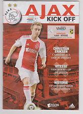 Programma / Programme Ajax Amsterdam v Vitesse Arnhem 14-08-2010
