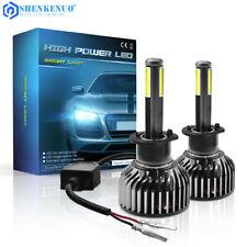 H1 LED Headlight Conversion Kit 120W 12000LM Hi/Lo Beam Bulbs White 6000K HID