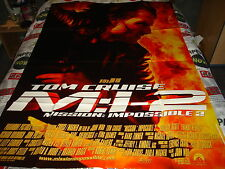 AFFICHE  TOM CRUISE / WOO / MISSION IMPOSSIBLE 2