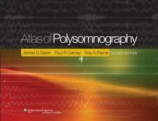 Atlas Of Polysomnography, 2E (Hb), Geyer, New Book