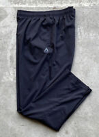 Reebok Men's Training Pants Size XL Black Tapered Leg