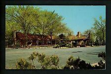 Restaurant postcard Skokie Illinois IL Elliott's Pine Log chrome