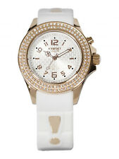 KYBOE SW.40-003.15 BRAND NEW Women's Radiant Rose Gold White Silicone Band Watch