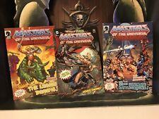 He-Man Masters Of The Universe Classics MOTUC Lot Of 3 Mini Comics!