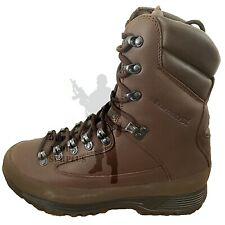 BRITISH ARMY - KARRIMOR SF Goretex lined Cold Weather Brown Combat Boots Surplus
