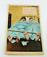 Vintage Witty Funny Postcard Early 1900s Rare Posted Greeting Card Collectible
