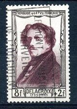 STAMP / TIMBRE FRANCE OBLITERE N° 892 CELEBRITE XIX° SIECLE EUGENE DELACROIX