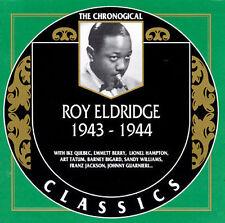 1943-1944 by Roy Eldridge-CLASSICS CD NEW