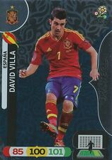 DAVID VILLA # MASTER 1/90 ESPANA CARD PANINI ADRENALYN EURO 2012