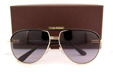 Brand New Tom Ford Sunglasses TF 0285 285 Cole 01B Gold Black for Men