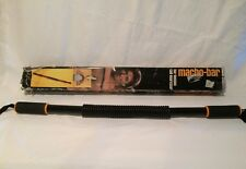 Vintage Joe Namath Macho Bar Dynamic Classics Iso-Tension Coil Exerciser