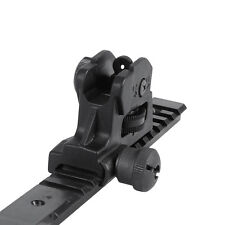 Hunting Detachable Type Adjustable Rear Iron Sight Picatinny/Weaver for Rifle