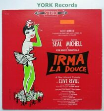 IRMA LA DOUCE - Original Broadway Cast - Ex Con LP Record Columbia OC 2029