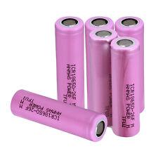 8PCS Anmaspower Flat Top Vape ICR 26F 18650 2600mAh 3.7V Rechargeable Batteries