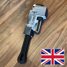 HOLDON BLACK PRO ALUMINIUM STILLSON PIPE WRENCH 300MM 12 INCH NEXT DAY DELIVERY!