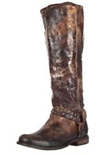 Frye  Phillip Studded Harness  Boots Distressed  Size 6.5
