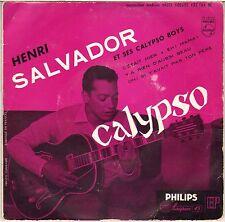 "HENRI SALVADOR / BORIS VIAN ""CALYPSO"" 50'S EP PHILIPS 432.164"
