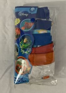 BRAND NEW DISNEY PIXAR BOYS 5 PAIR BRIEF MULTI CHARACTER PACK 100% COTTON SIZE 6