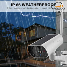 Outdoor IP Camera 1080P HD Solar Battery CCTV Security Wifi Wireless IR Night