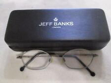 Jeff Banks bronze glasses frames. With case.