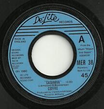 COFFEE - CASANOVA / A PROMISE - DE-LITE 1980* - ORIGINAL 80s FUNK/SOUL DISCO POP