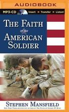 The Faith of the American Soldier by Stephen Mansfield (2015, MP3 CD,...