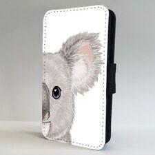 Koala Bear Face Art FLIP PHONE CASE COVER for IPHONE SAMSUNG