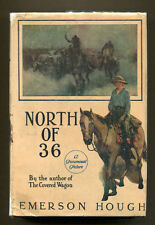 NORTH OF 36 by Emerson Hough (1923) G&D Photoplay Edition in DJ - Lois Wilson