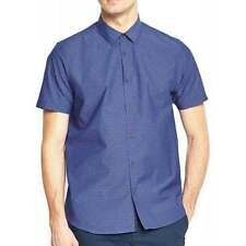 Ted Baker Men's Spotted Regular Collar Casual Shirts & Tops