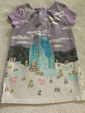Genuine Kids Oshkosh Girls 4t Dress Castle Unicorn Euc